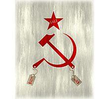 Communism vs. Capitalism Photographic Print