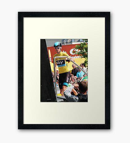 Chris Froome (1), Tour de France 2013  Framed Print