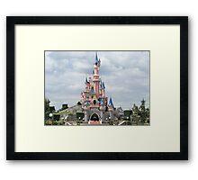 Beautys Castle Framed Print