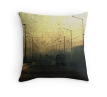 On Da Road Throw Pillow