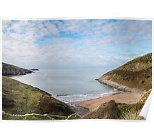 Pretty Beach Landscape Poster
