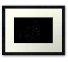 The Sweet Influences of Pleiades Framed Print