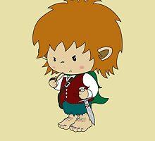 I'm not short, I'm a hobbit by mangulica