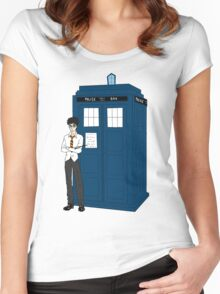 Doctor Potter Women's Fitted Scoop T-Shirt