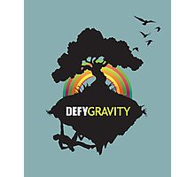 Defy Gravity  Photographic Print