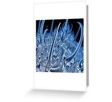 Incendia fractal partial rendering Greeting Card