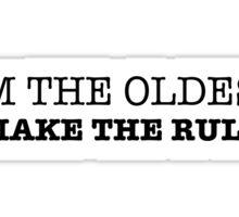 The Oldest Sticker