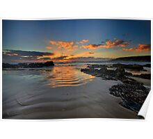 Emerald Beach Sunrise Poster
