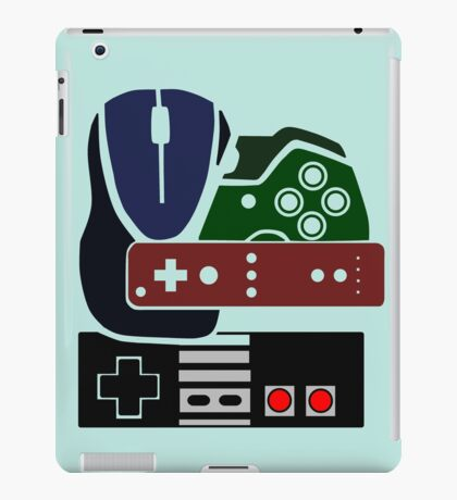 Gaming Collage with colour iPad Case/Skin
