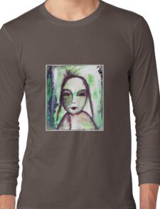 Sometimes it was difficult to think... Long Sleeve T-Shirt