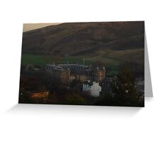Holyrood Palace Edinburgh Greeting Card