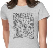 Ink Brush #1 Womens Fitted T-Shirt