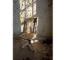 One Chair, One Window Photographic Print
