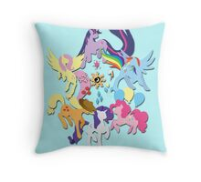 Circle of Friendship Throw Pillow