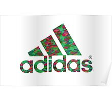 Adidas Logo Edit Poster