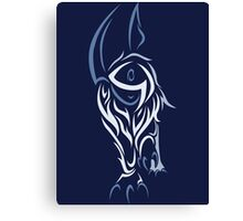 Tribal Absol Colored Canvas Print