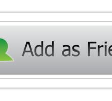Add as Friend Sticker