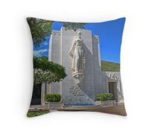 The Cost of Freedom Throw Pillow