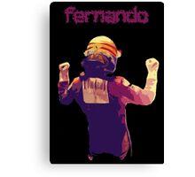 Fernando Alonso Korea 2010 Win Canvas Print