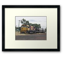 Old Faithful Shunt Engine Framed Print