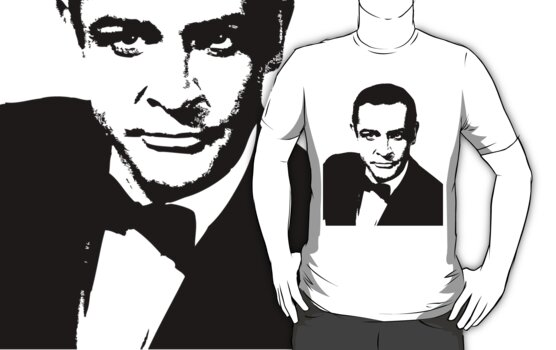 Bond, James Bond - Tee by Lauren Eldridge-Murray