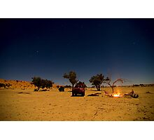 Desert Night Photographic Print