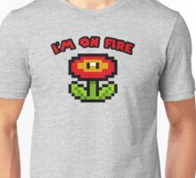 I am on fire - fire flower Unisex T-Shirt