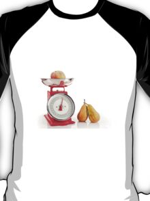 Kitchen red weight scale utensil T-Shirt