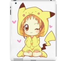 Pikachu Girl! ♥ iPad Case/Skin