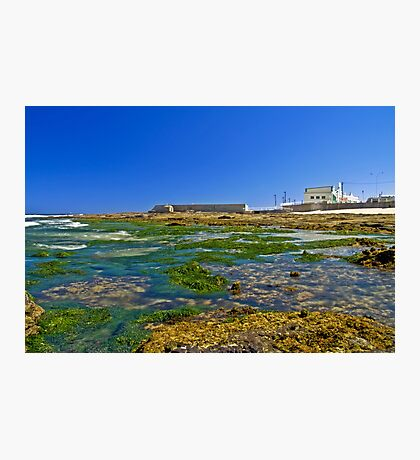 Cowrie Hole to the baths Photographic Print