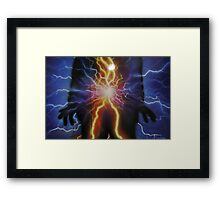 Charging up  Framed Print
