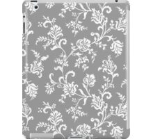 Antique Vintage Floral Leaf Pattern iPad Case/Skin