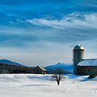 Winter With Jay Peak by Deborah  Benoit