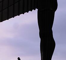Angel of the North 2 by Mike Paget