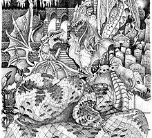 Bad lands by Mark  Monley