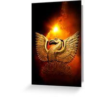 Phoenix Rising I Greeting Card