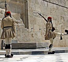 Greek soldiers  by John44