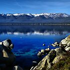Lake Tahoe Blue by Marylee Pope