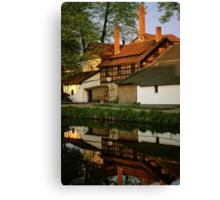 Schmitt brewery in Thüringen, Germany, 1991 Canvas Print