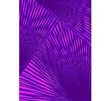 Purple Prism Photographic Print