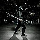 Ninja R by hangingpixels