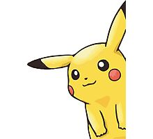 eavesdropping pikachu  Photographic Print