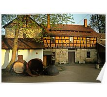 Schmitt brewery in Thüringen, Germany, 1991 Poster