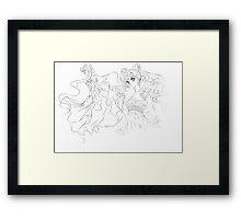 Sailor Moon - Princess Serenity Framed Print