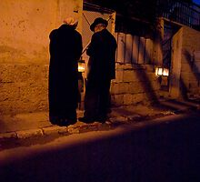 Kindling the candles by Moshe Cohen