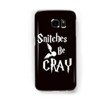 Snitches be cray - Golden Snitch Potter Samsung Galaxy Case/Skin