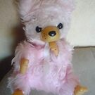 Arnaud the Pink Bear by karenuk1969