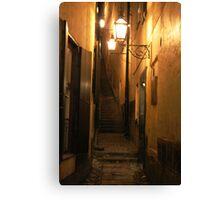 Street at Night Canvas Print