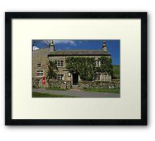 Castle Bolton Post Office N. Yorkshire, UK, 1980s. Framed Print