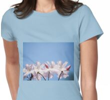 Bunch of pink Rhododendron Womens Fitted T-Shirt